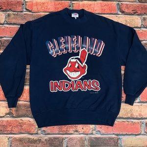 Vintage 1997 Cleveland Indians Crewneck Size L
